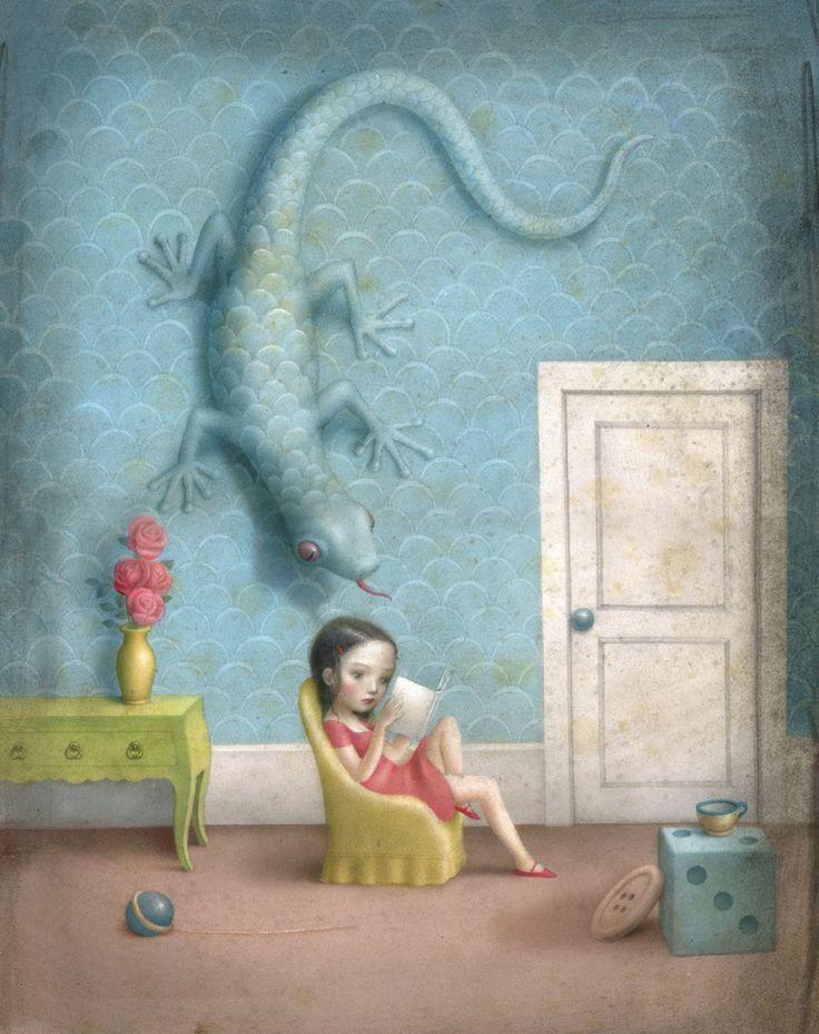Nicoletta Ceccoli: Things Books, Art Illustrations, Nicoleta Ceccoli, Artists Nicoletta, Ceccoli Illustrations, Nicoletta Ceccoli, Nicolettaceccoli, Children Books, Ceccoli Art