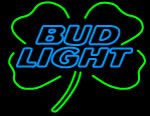 Budlight Shamrock Neon Sign, Bud Light Neon Beer Signs  Lights | Neon Beer Signs  Lights. Makes a great gift. High impact, eye catching, real glass tube neon sign. In stock. Ships in 5 days or less. Brand New Indoor Neon Sign. Neon Tube thickness is 9MM. All Neon Signs have 1 year warranty and 0% breakage guarantee.