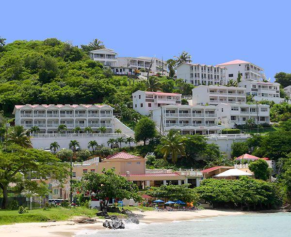 Grenada.Flamboyant Hotel