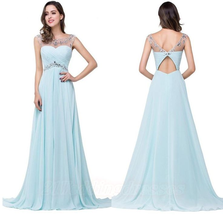 17 Best ideas about Light Blue Prom Dresses on Pinterest | Light ...