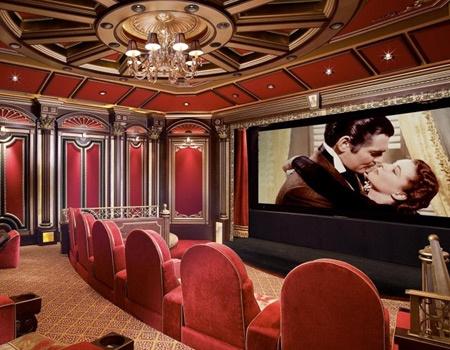 19 best Media room images on Pinterest | Home cinemas, Home theatre ...