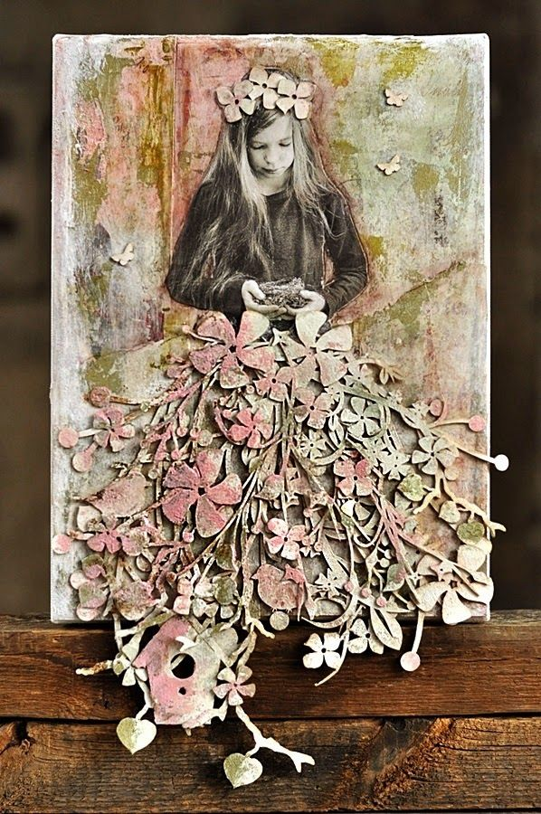 cynkowe poletko: mixmedia written how to do this Mixed Media frame! In Polish use Translate thru Chrome or option on blog upper left. WOW!
