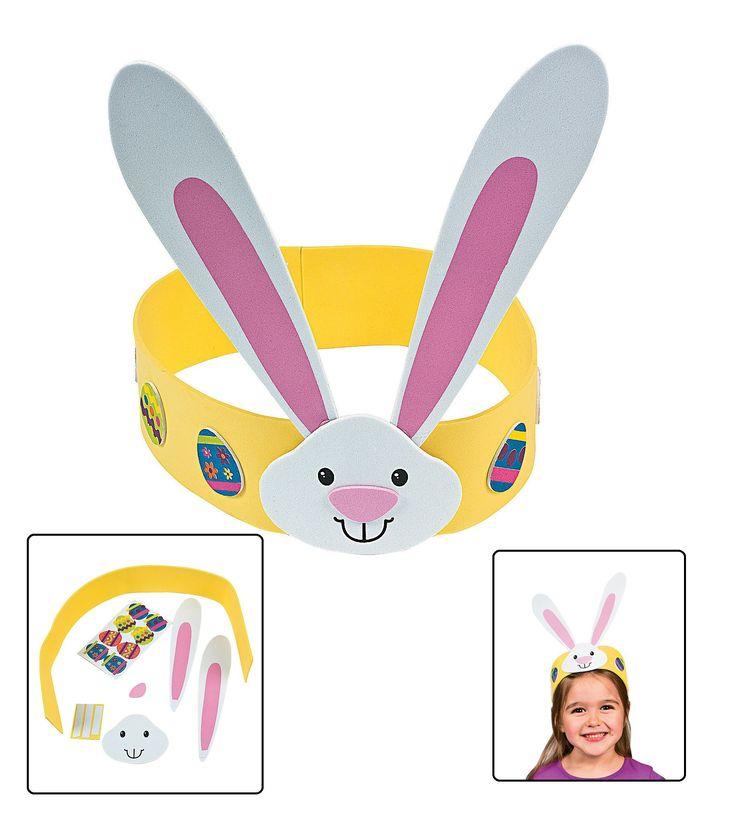 Easter Headband Craft Kit (Makes 12) - Crafts for Kids & Hats & Masks