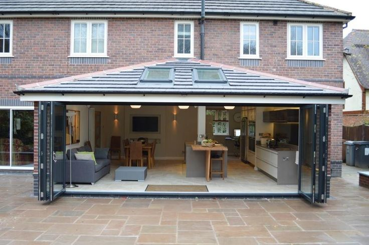 Bi-folding Door extension