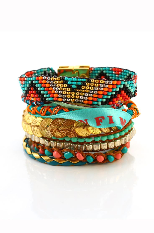 Bracelet brésilien Bahia - Hipanema sur Twicy store.