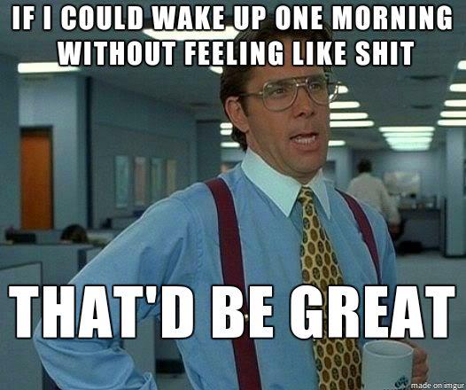 Doesnt matter how many hours i slept