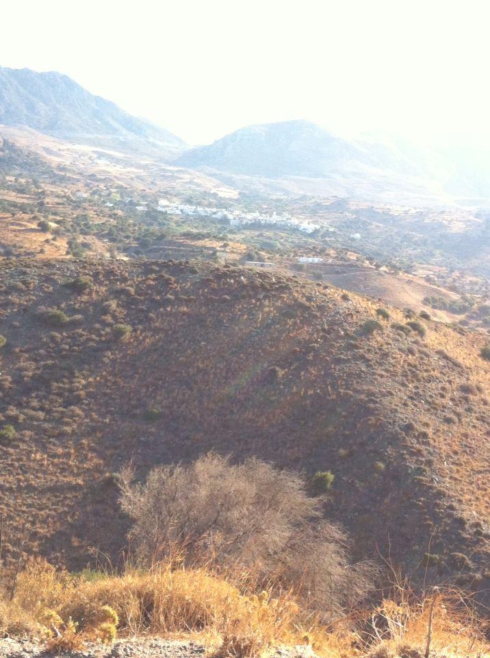 Morgendis i bjergene på Kreta