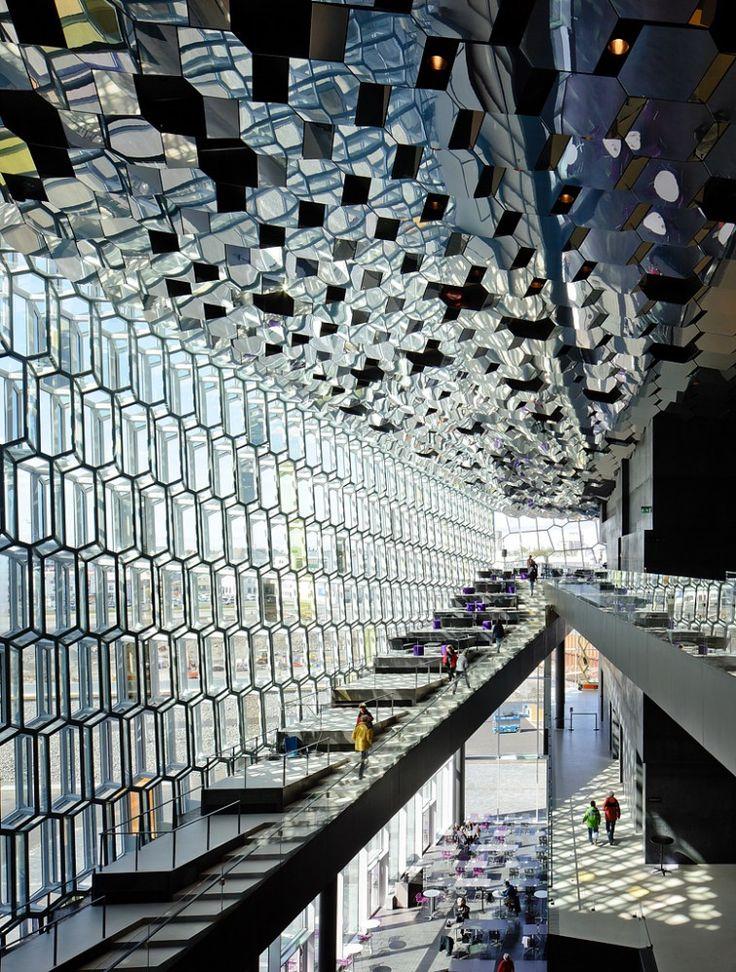 Harp Concert Hall, Reykjavik, Iceland - Olafur Eliasson & Henning Larsen Architects © Peter Kok
