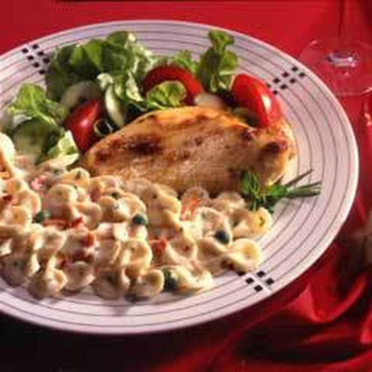 Classic Herbed Chicken Recipe Main Dishes with lipton recip secret savori herb with garlic soup mix, hellmann' or best food real mayonnais, water, boneless skinless chicken breast halves, knorr italian side four chees bow tie