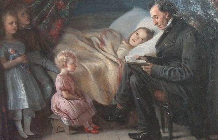 Wielki baśniopisarz Andersen i jego królowa śniegu Jenny Lind