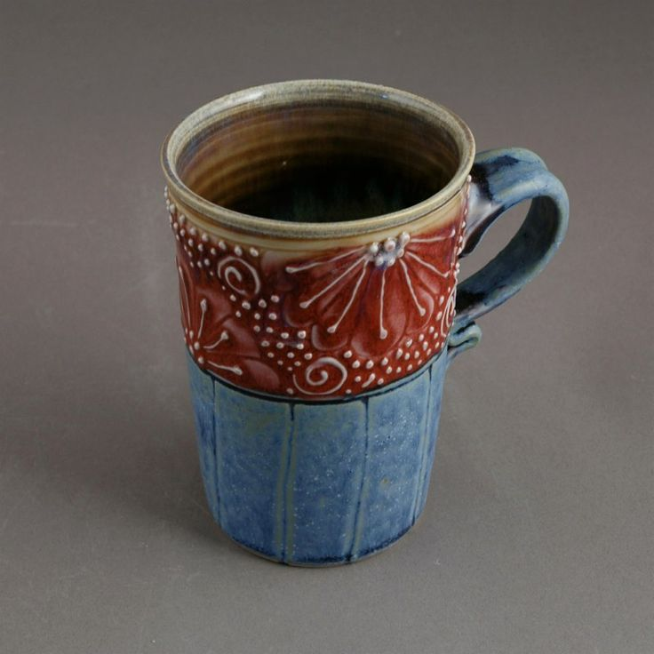 35 best images about pottery mug ideas on pinterest for Pottery cup ideas
