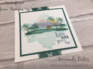 The Craft Spa - Stampin' Up! UK independent demonstrator : Love Island!