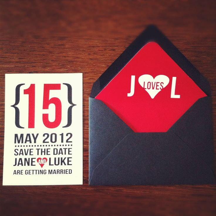 modern save the date (digital file only)