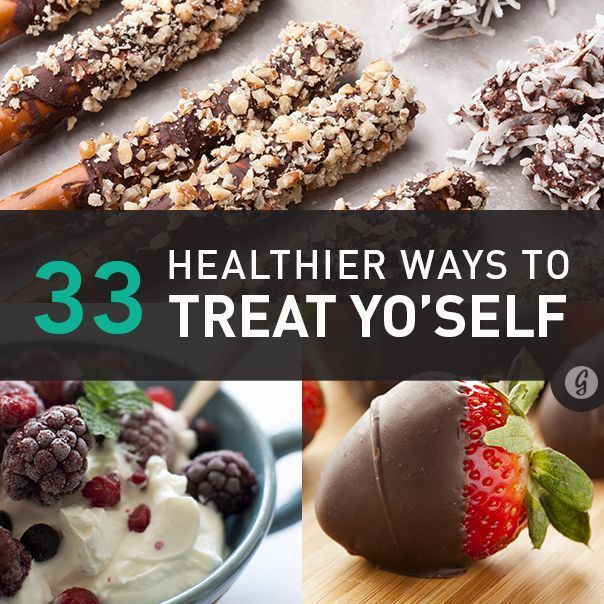 Healthier Sweets #treatyoself #healthy