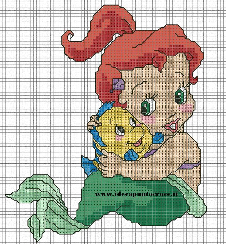 BABY ARIEL PUNTO CROCE by syra1974 on DeviantArt