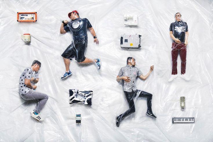 Sugardonut - Vacuum packing band portrait!