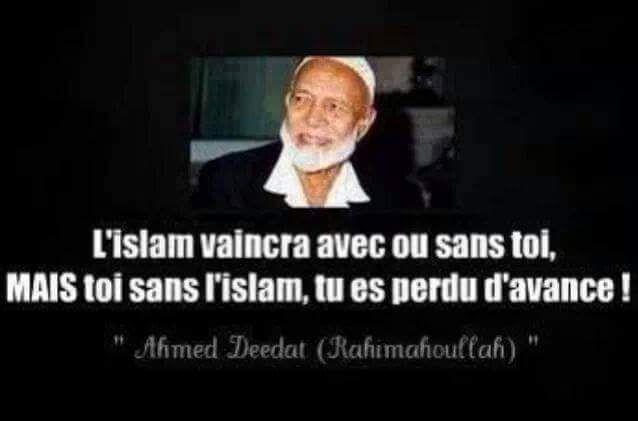 Ahmed deedat RahîmuAllah