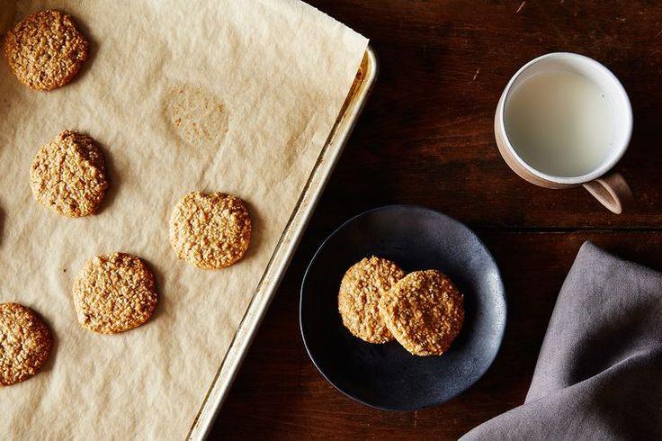 Honey–Almond Sesame Cookies recipe on Food52