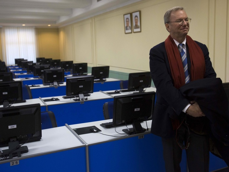 North Korea technology has a lot of computers!