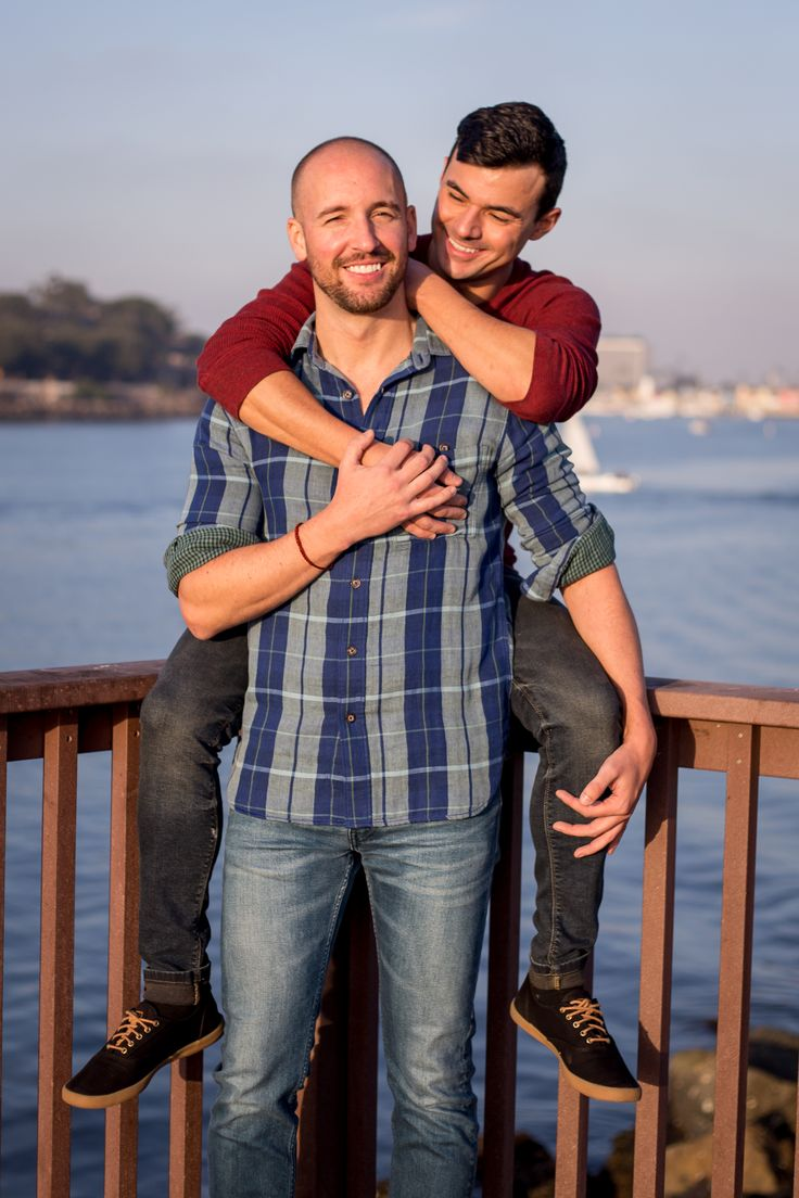 Gay wedding and engagement photos.  Marina Del Rey, California.  By Crystal Lily Photography. (Serving Los Angeles & Orange County, California; & Orla…