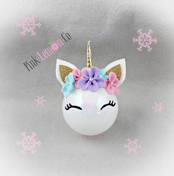 unicorn Christmas ornament unicorn ornamentunicorn unicorn