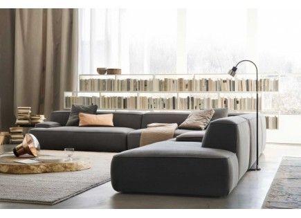 Modulsoffor CLOUD SOFA - En soffa konstruerad som en modulär bra spel av fri form och organiskt, som kan sättas ihop eller fastnat skapa originella lösningar och lämplig för både inhemska levande, både stora kontrakt utrymmen. Lekfulla geometrier...