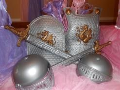 Princess and Knight Birthday Party Ideas. Shop for Princess and Knight Party at http://www.myprincesspartytogo.com #princessknightpartyideas