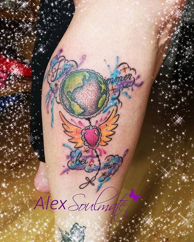For the beloved father. Forever with me🌹 #tattoo #soulmate #family #soulmatetattoo #aachen #aachencity #germantattooers #alexsoulmate #withlove #memories #father #heart #earth #mystyle #liebe #tatts #tatuaje #tatoo #tattoodesign #infinity #tattooartist #tattooart #amazingtattoo #beauty #moment #journey #girlstattoo #familie #girl #girlstuff