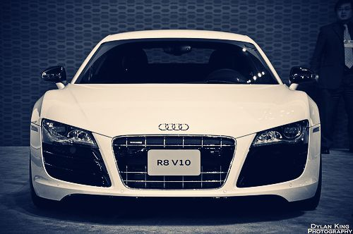 #car #white #audi