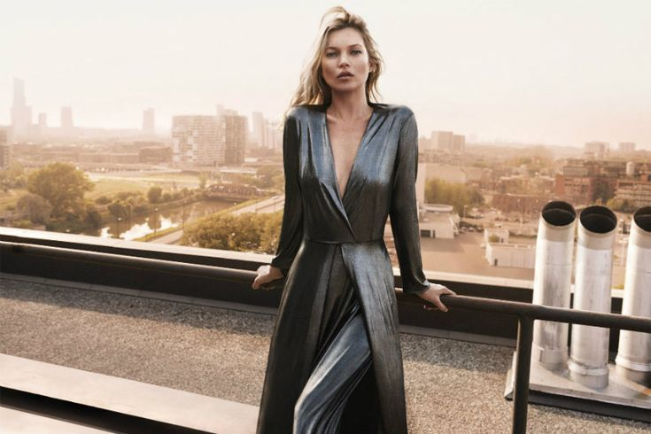 Cara Delevingne and Kate Moss star in Mango Collection party