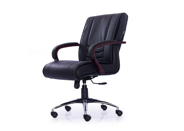 Interio Low Back Leatherette Chair from Durian has ultra soft cushions, side bolsters & lumbar bolster for maximum support.