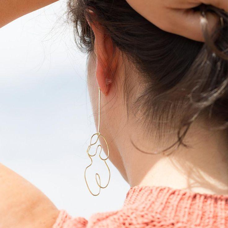 Knobbly Studio Nude Earring