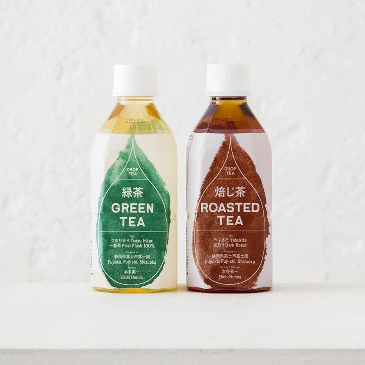 暈染風格的 DROP TEA 茶飲 | MyDesy 淘靈感