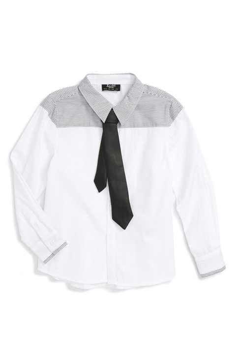 Bardot Junior Tie Shirt (Little Boys)