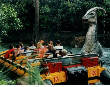 #Jurassic park ride at #Universal Studios {{child swap... Both parents and kids.  this ride was wicked!}}