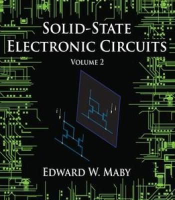Pdf electronics solid state