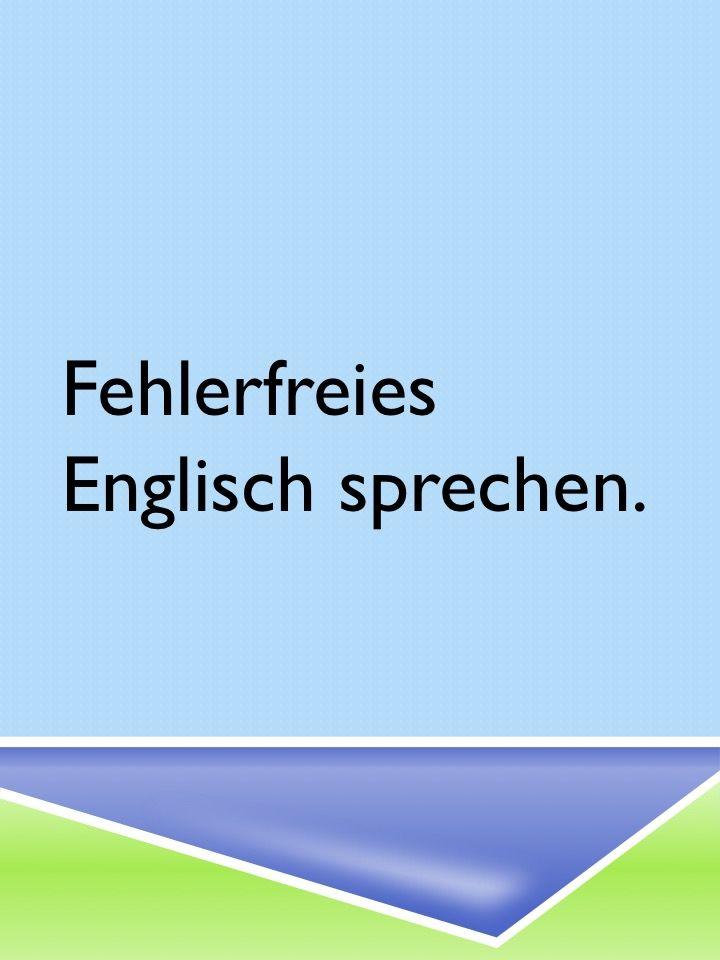 Englisch auffrischen und verbessern – Typische Fehler ausmerzen
