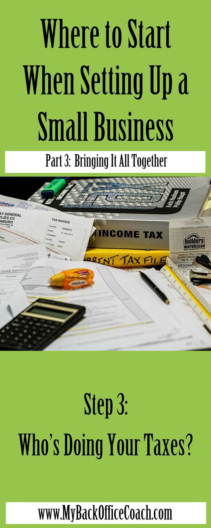 Where To Start When Setting Up Your Business Part 3 Of 3 My Back Office Coach Starting Small Business Small Business Bookkeeping Small Business Start Up