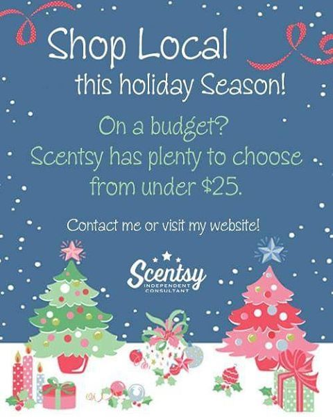 AngelinasAromas.scentsy.us #Scentsy #holiday