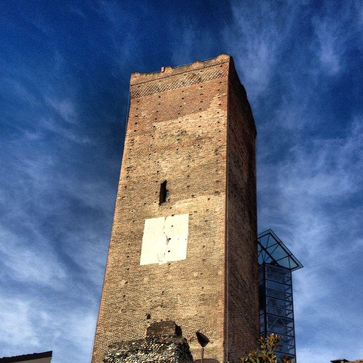 The tower of Barbaresco, Piedmont, Italy.