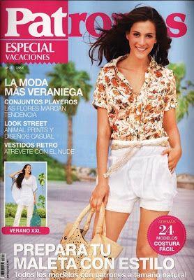 Mujeres y alfileres: Revista Patrones, especial vacaciones
