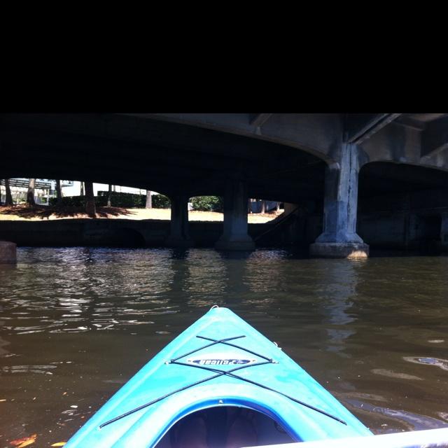 Simple kayak ride through town is a great exercise.: Kayaks Riding, Simple Kayaks