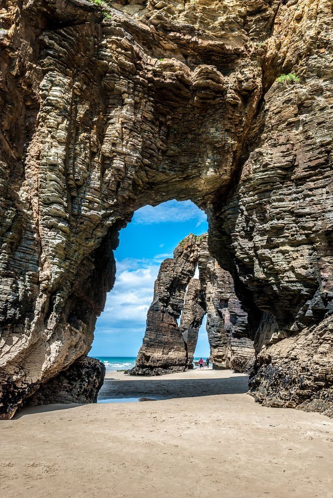 Praia As Catedrais, Lugo,Spain. Pinterest:@theculturetrip