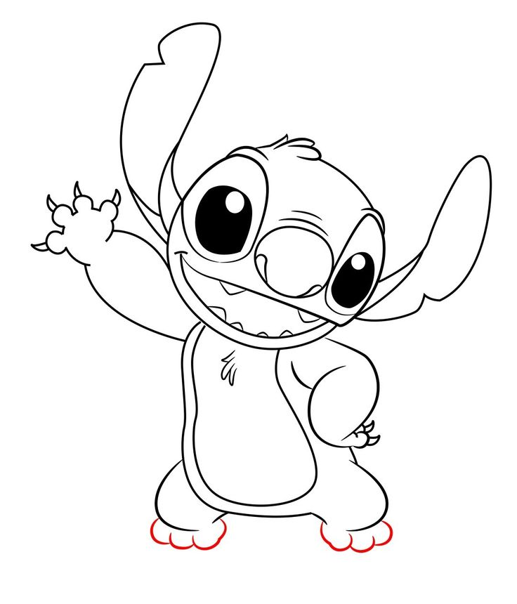How To Draw Stitch From Lilo And Stitch Lilo, stitch
