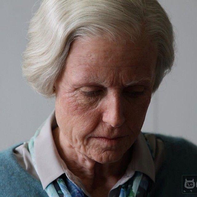 ГРИМ И СПЕЦЭФФЕКТЫ - форум для мастеров кино - Профессиональный пластический грим пожилой женщины