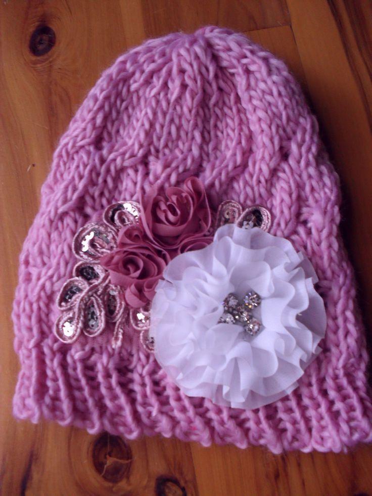 Handmade Embellished Beanie New Season $22