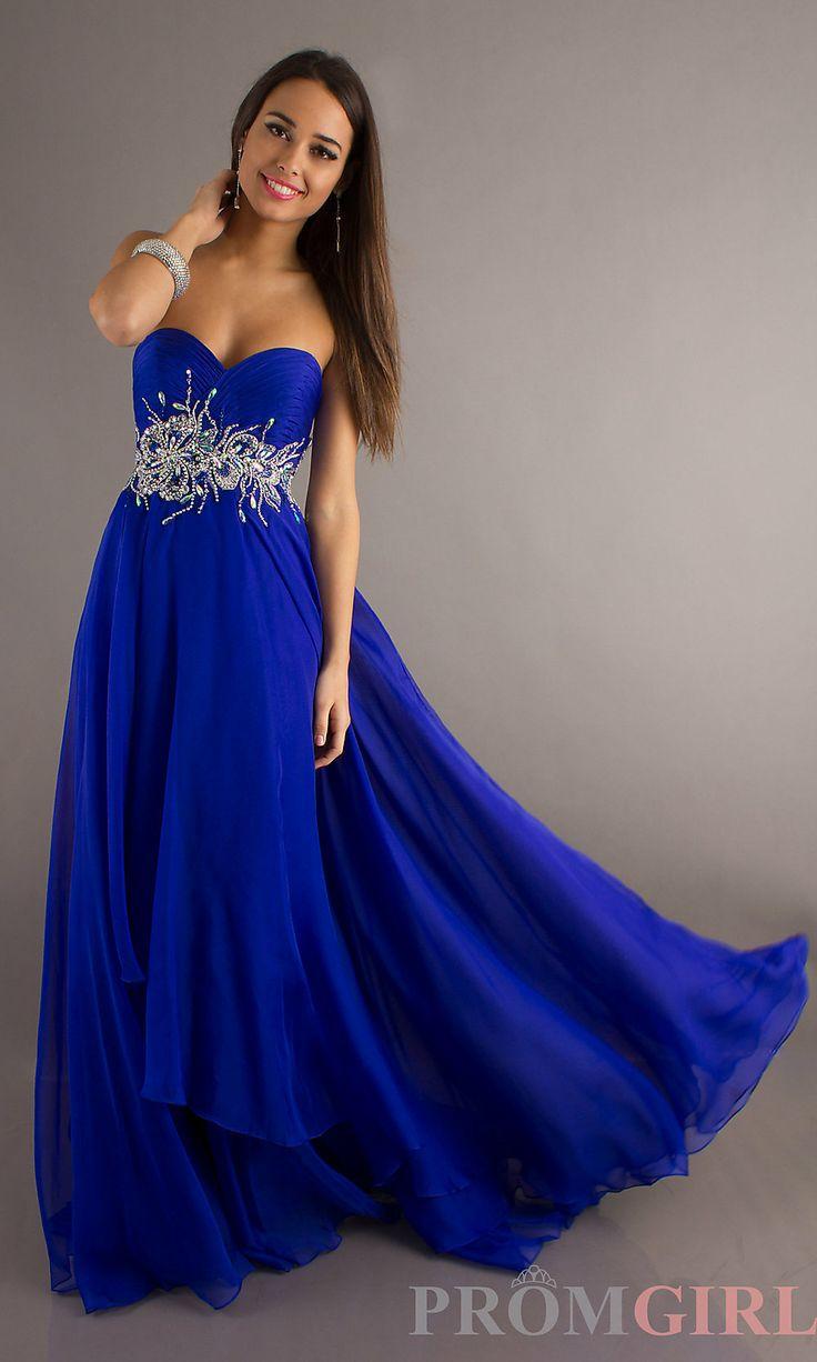 Sapphire Blue Prom Dresses - Long Dresses Online