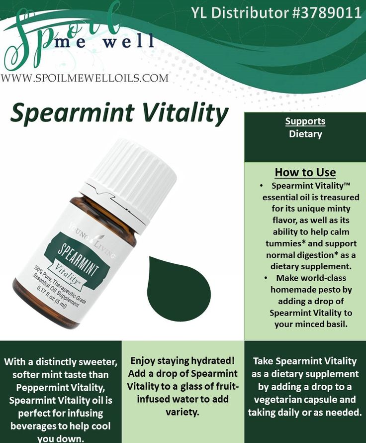 how to make spearmint essential oil