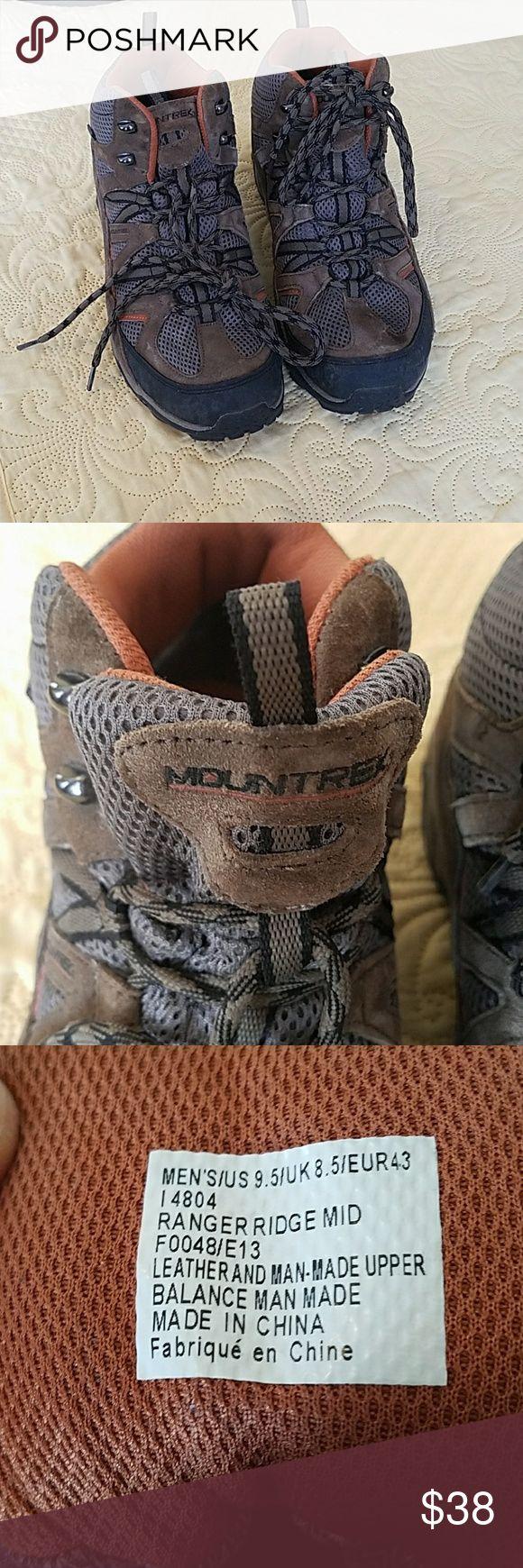 Merrill mountrek waterproof hiking boots 9.5 Brown lightweight waterproof hiking boots Merrell Shoes Boots
