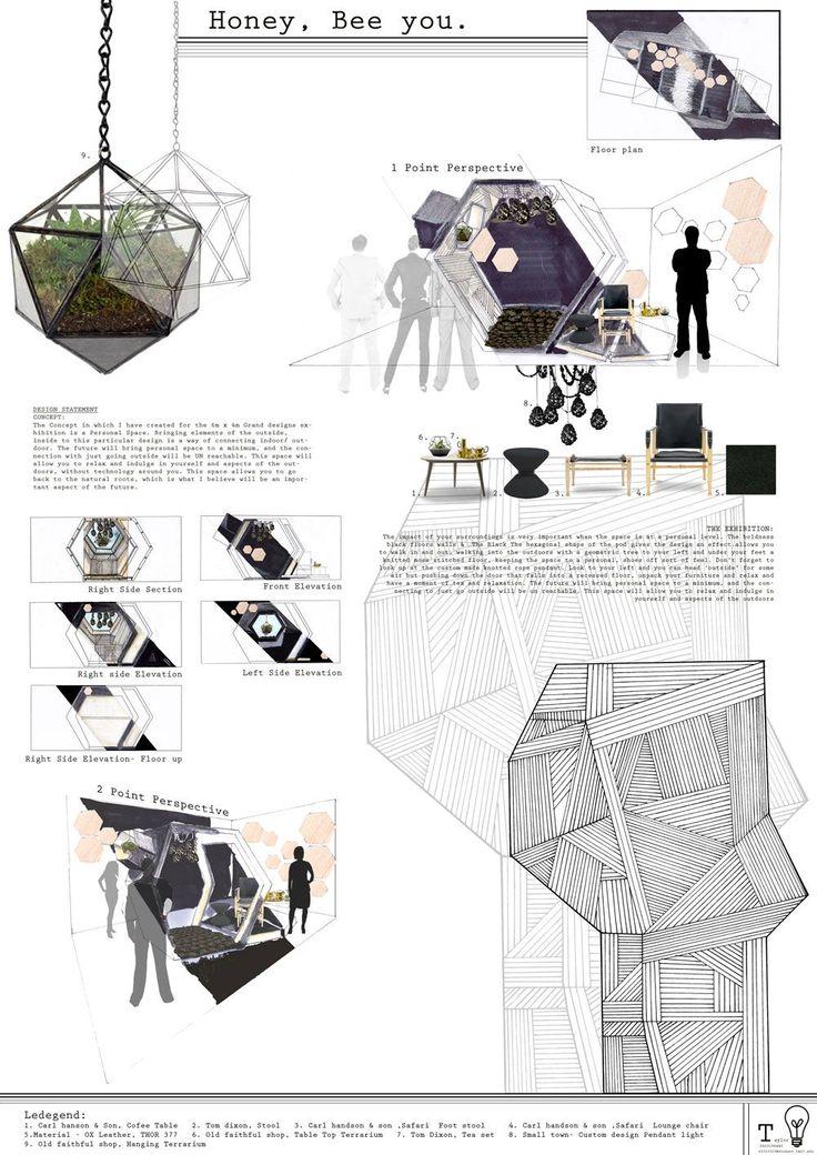 Grand Designs 2013 Presentation Board Taylor Black Diploma Of Interior Design Decoration